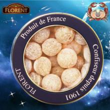 法国进口糖果费罗伦十二星座进口硬糖蜂蜜糖球水果糖(巨蟹座)210g情人七夕节礼物