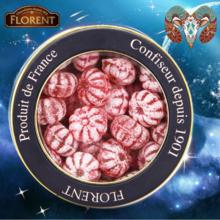 法国进口糖果费罗伦十二星座进口硬糖覆盆子水果糖(白羊座)220g