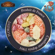 法国进口费罗伦十二星座进口硬糖果水果沙拉糖(水瓶座)230g
