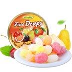 德国进口 woogie糖果 樱桃/野莓/柠檬/综合水果味铁盒硬糖200g 手工糖果喜糖礼品铁盒装零食品