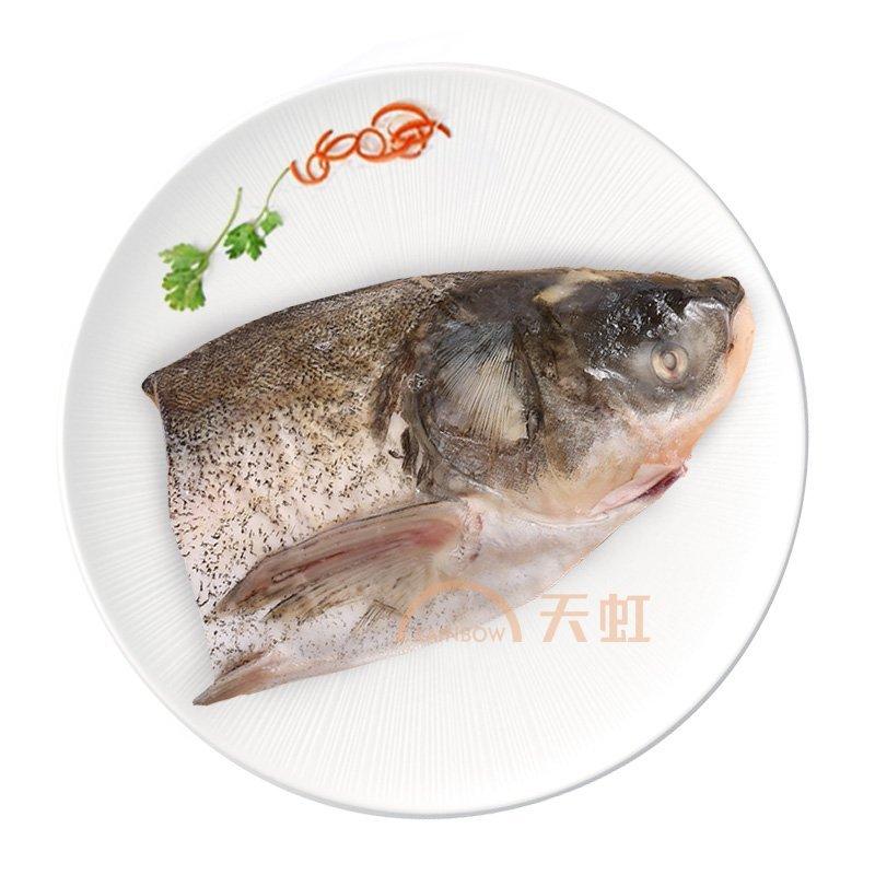 有机白鲢头 胖头大头鱼千岛湖鱼头新鲜白鲢野生淡水鱼