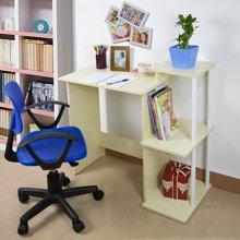 雅客集书桌书架组合清风简约电脑书桌WN-15035