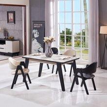皇家爱慕北欧时尚大理石餐台方桌009