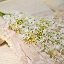 墨菲 跳舞兰仿真花 欧式装饰干花兰花绢花美式插花瓶假花艺