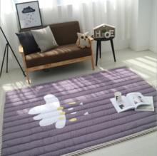 卡通游戏地垫婴儿爬行垫绗缝防滑加厚儿童客厅爬爬垫