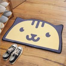 新款半圆造型脚垫家用厨房卧室卫生间浴室门口防滑吸水地垫