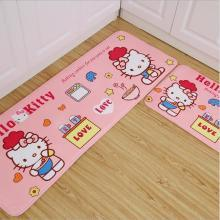 hellokitty猫地垫儿童卡通加厚地垫地毯浴室厨房吸水防滑垫子