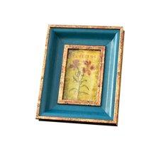 墨菲欧式田园复古相框 挂墙摆台7寸6寸美式画框架婚纱照片框摆件