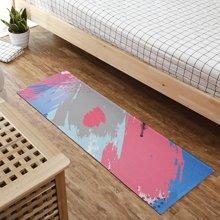 圈绒印花地毯北欧进门卧室浴室门口防滑吸水超薄地垫厨房拼接脚垫