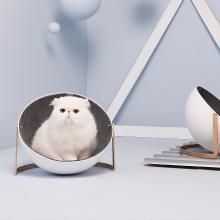 FURRYTAIL尾巴生活 ByeByeFur白白猫窝猫锅进口羊毛极简设计