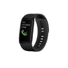 居康智能手环运动记步手环腕带表 心率血压睡眠监测闹钟防水 黑色