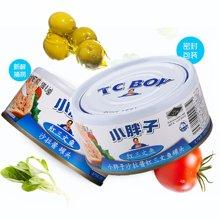 甜蜜心语 泰国原装进口小胖子沙拉酱红三文鱼罐头180g