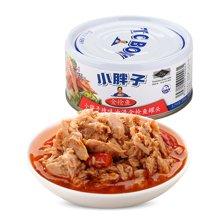 甜蜜心语 泰国原装进口小胖子辣味油浸金枪鱼罐头180g