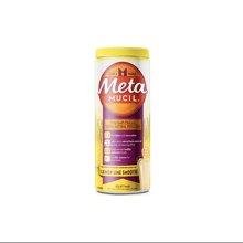 【香港直邮】(塑身纤体维持胆固醇平衡)澳洲Metamucil美达施膳食纤维粉柠檬幼滑口味72次425克*1瓶装