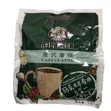 台湾伯朗咖啡即溶咖啡意式拿铁风味15入/袋