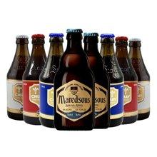 【高端啤酒秀,修道院精酿】Chimay 智美 比利时修道院啤酒组合 330ml*8支 (智美组合)