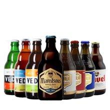 【男贵族专享,比利时啤酒包】马里斯10° 白熊 企鹅 海象 智美白 智美红 智美蓝 都威 共8瓶 330ml*8(男神品鉴)