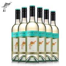 澳洲原装进口红酒 黄尾袋鼠莫斯卡托甜白葡萄酒 750ml 6支装