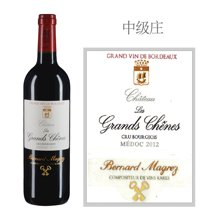 法国波尔多中级庄 力关轩酒庄红葡萄酒 2012年