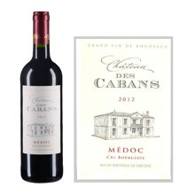法国波尔多中级庄 嘉宾酒庄红葡萄酒 2012年