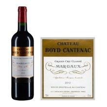法国1855三级庄 贝卡塔纳庄园红葡萄酒 2012年