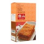 泰国进口 座山牌鸡肉/虾丝/紫菜松米饼90g 香米饭焦干锅巴米饼零食小吃