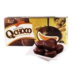 台湾进口  皇族巧克力花生Q饼140g*2盒 夹心传统糕点心零食特色小吃
