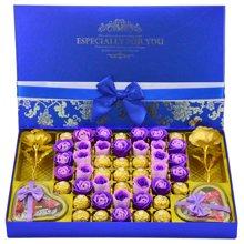 费列罗巧克力礼盒装 费雷罗巧克力德芙巧克力礼盒生日情人节礼物520德费大宝蓝18
