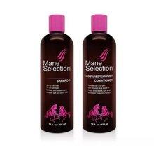 【2瓶装】美国mane selection马牌深层保湿洗护套装 335ml/瓶