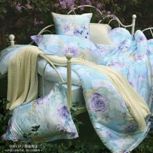 雅兰家纺 床上静谧海洋四件套 床单床笠四件套 【专柜款】