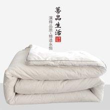 蒂品生活(DIPINHOME)家纺32°暖绒被 舒柔冬天用被子 秋冬加厚保暖被芯  纯棉贴肤 柔软舒适 花色随机发
