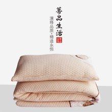 蒂品生活 天然彩棉可拆卸小小被 宝宝幼儿园被子 被套被芯枕套 枕芯 卡通天然彩棉幼儿园床品