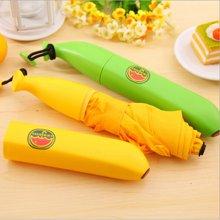 banana创意香蕉雨伞 便携伞儿童雨伞铅笔伞