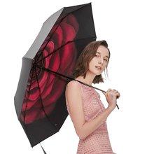 2018新款BANANA UNDER蕉下绒羽防晒小黑伞折叠晴雨伞女防紫外线遮阳伞