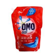 奥妙深层洁净洗衣液袋装(薰衣草)(1kg)