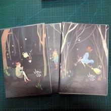 晨光笔记本文具B5创意大胶套本办公厚记事本学习用品1本装(魔幻森林系列APYSLB74)