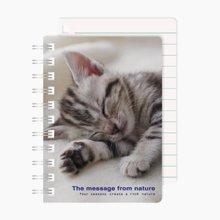 上品汇清新波点线圈本可爱动物横线本学生作业本子办公便携记事本