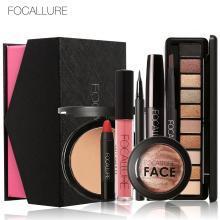 预售-11月下旬发货Focallure菲鹿儿彩妆套装 口红眼影眉笔大礼盒2006-4(8件套)