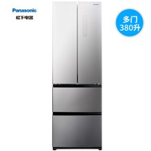 Panasonic/松下 松下电冰箱NR-D380TP-S 380升 顶置压缩机变频风冷多门冰箱