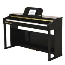 专柜同款 达宝恩 The ONE智能钢琴乐器 数码电钢琴 升级版烤漆版 重锤88键成年人儿童 多功能全键盘 黑色