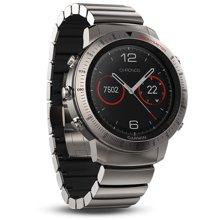 达宝恩 新一代商务佳明(GARMIN)Fenix Chronos酷龙 光电心率跑步登山智能运动手表 钛合金轻量款 119008
