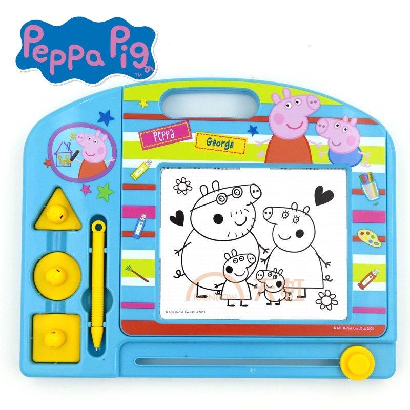 小猪佩奇粉红猪小妹佩佩猪可爱卡通儿童艺术美术画板