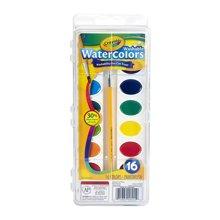 【美国】Crayola绘儿乐 16色可水洗固体颜料 3岁以上