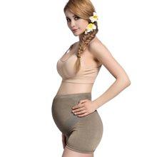 乐孕银纤维防辐射高弹托腹孕妇内裤