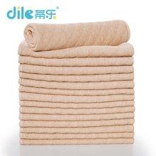 蒂乐加厚彩棉婴儿纱布尿布15片