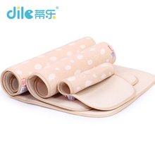蒂乐彩棉3D婴儿隔尿垫宝宝加厚可洗尿垫单条
