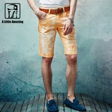 A LA MASTER 短裤男夏天休闲裤男士中裤五分裤潮韩版修身夏沙滩裤15626S