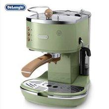 Delonghi德龙 ECO310(橄榄绿)泵压式咖啡机 家用 商用 意式 半自动咖啡机 不锈钢锅炉