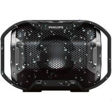 达宝恩 飞利浦(PHILIPS)SB300B 无线蓝牙音箱 便携迷你音响 兼容苹果/三星手机/电脑/车载小音响 免提通话 黑色