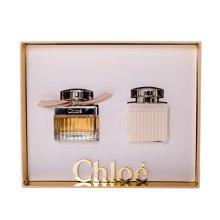 法国Chloe 蔻依香水2件套装(淡香精50ml+身体润肤乳100ml)